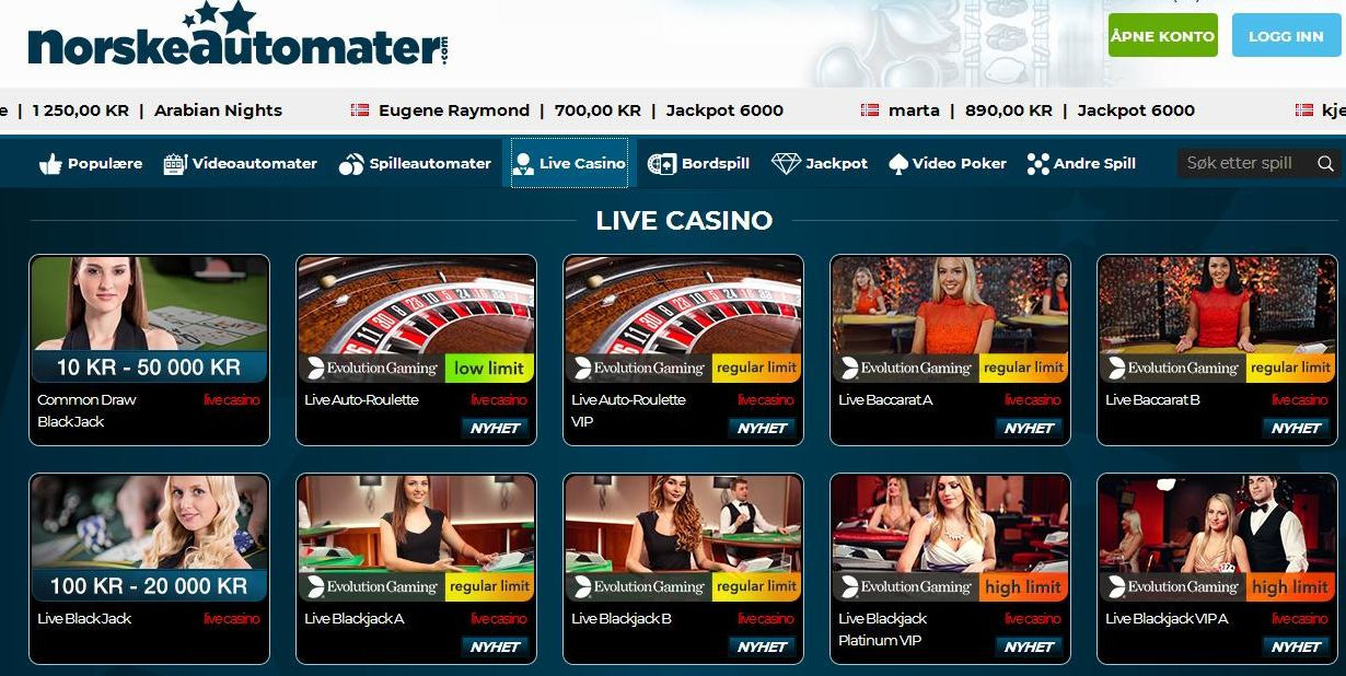 Online Casino Norway - Best Norway Casinos Online 2018
