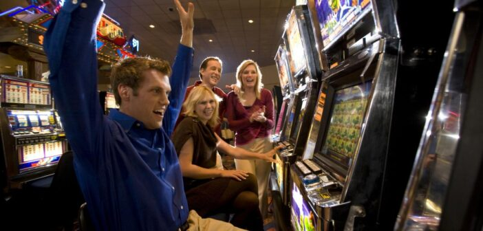 playing slots